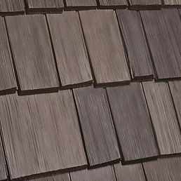 DaVinci Roofscapes Bellaforte Shake Tahoe-VariBlend Swatch Omaha