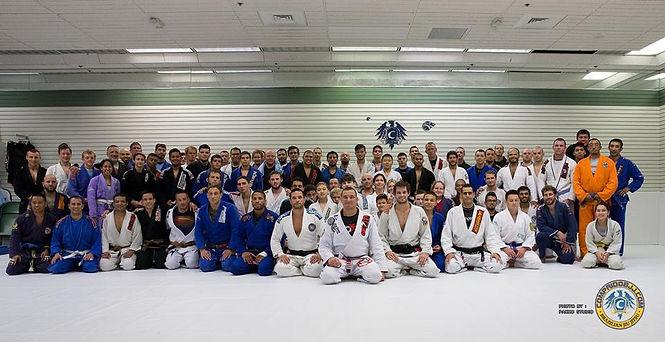 Training with team Brasa