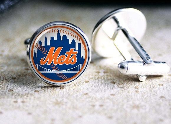 NY Mets Cufflinks