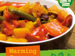 Warming Veg and Coconut Curry