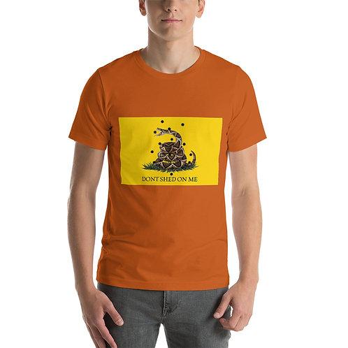 Gasden Flag Don't Shed On Me (Color) Short-Sleeve Unisex T-Shirt