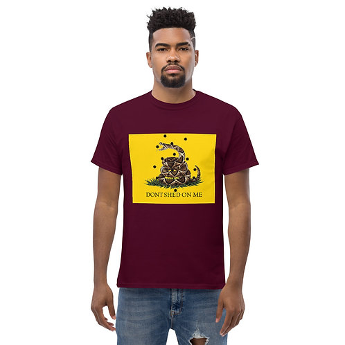 Don't Shed on Me (Color) Men's heavyweight tee
