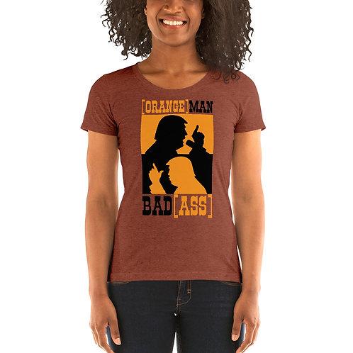 Orang Man Bad Ass (Western) OriginalLadies' short sleeve t-shirt