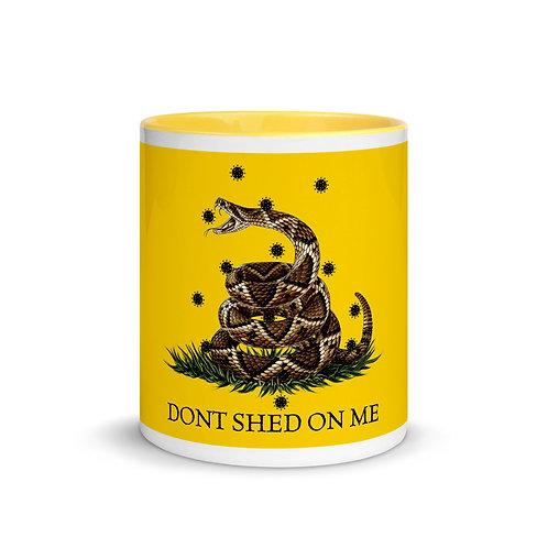 Gadsden Don't Shed On Me (Color) Mug with Color Inside