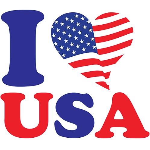 I Heart the USA-2- 2x2