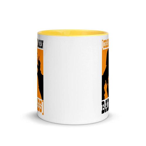 Orange Man Bad Ass (Western) Original Mug with Color Inside