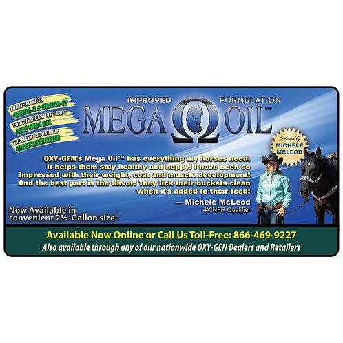 Mega Oil for Horses / Michele McLeod's