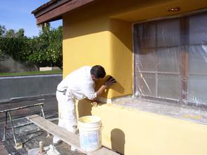 Rios Plastering - Whitney Arch - In Progress.JPG