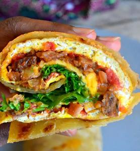 Chapati roll swahili Ristomondo