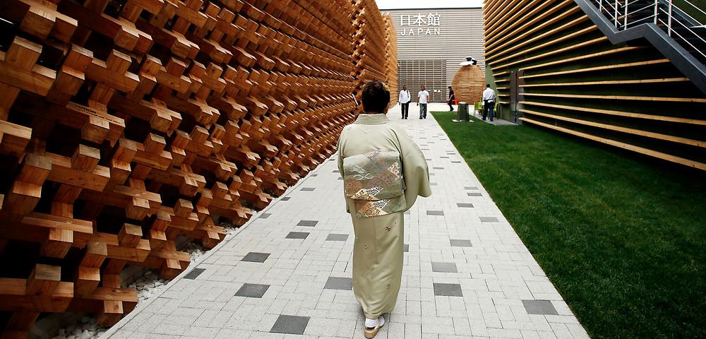 Ristomondo a Expo pad Giappone entrata