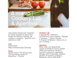 8 marzo 2019 - Cookery Lab & Aperitivo