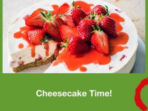 Cheesecake Time! Consegna a domicilio, ovunque a Roma.