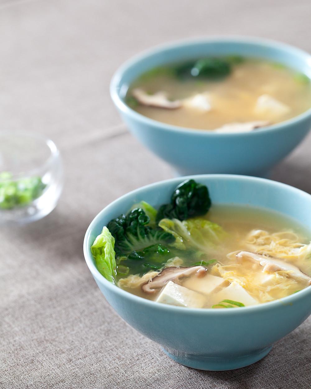 zuppa di miso e tofu menù vegano Ristomondo