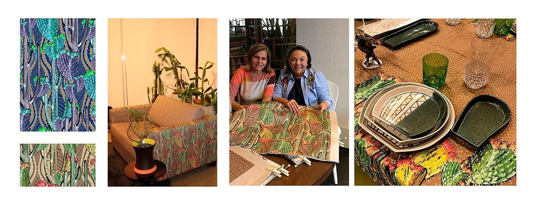 Coleção assinada por Juliana Pelegrinello para Lilia Casa.