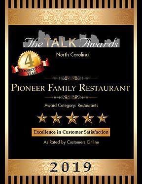 TALK 2019 Pioneer Family Restaurant 612x