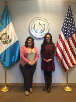 Mil Mujeres sigue afianzando lazos con consulados de países latinos en Estados Unidos