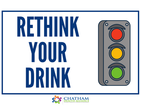 Rethink Your Drink Campaign: Chatham Hospital Café, August 2020