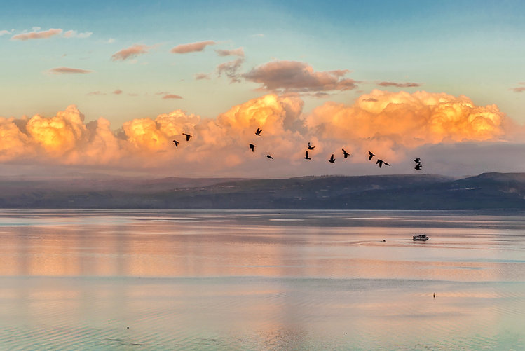 Sunrise on a Sea of Galilee.jpg