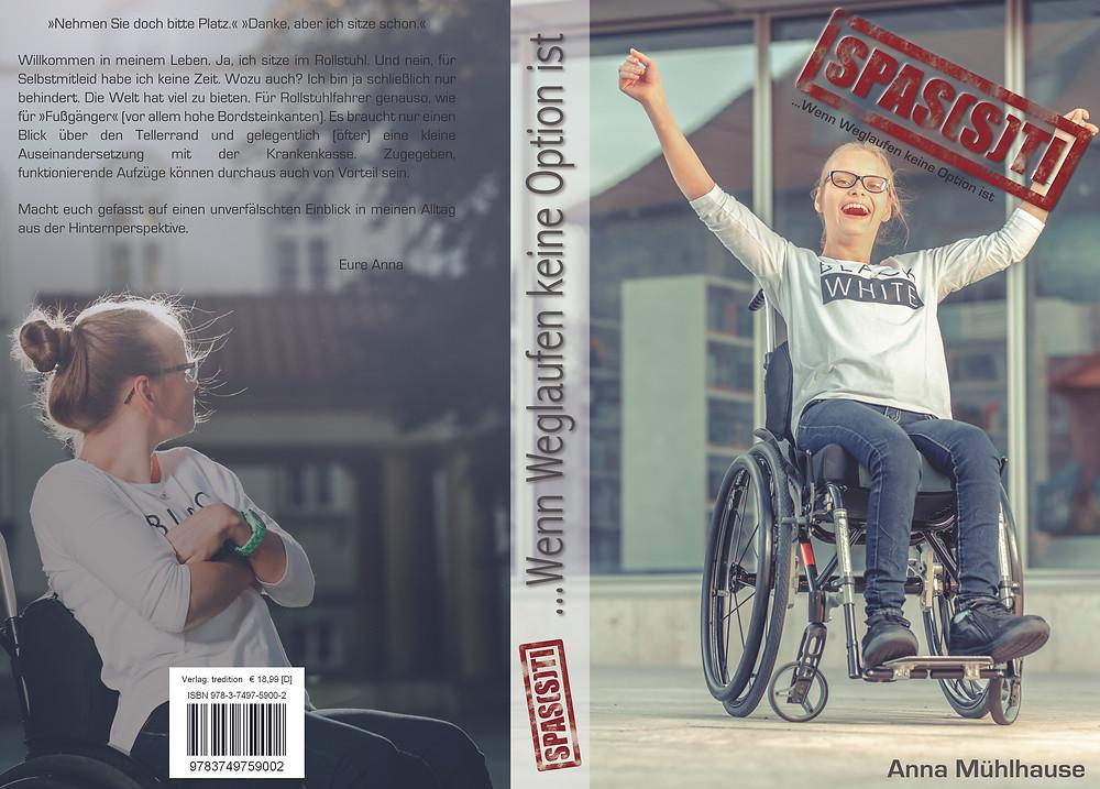 Anna Mühlhause, Buch, Autographie, SPAS(S)TI ... Wenn Weglaufen keine Option ist, Taschenbuch, gebundenes Buch