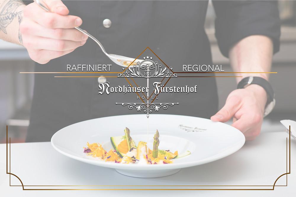 Kulinarik, Nordhäuser Fürstenhof Hotel, Nordhausen, Regional, Raffiniert, Koch, Kochen, Hotel