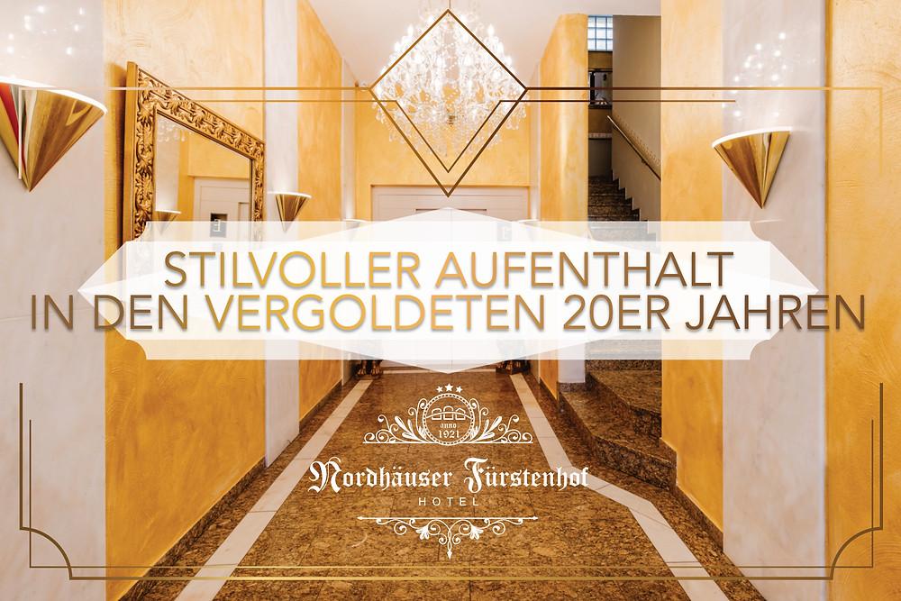 Ambiente, Hotel, 20er Jahre, Nordhäuser Fürstenhof Hotel, Nordhausen