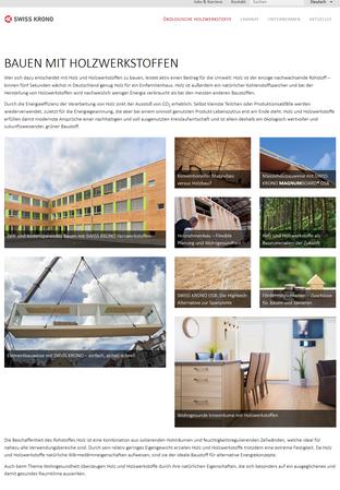 Bauen mit Holzwerkstoffen