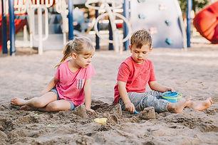bigstock-Two-Caucasian-Children-Sitting-