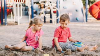 חיטוי חול בגני ילדים