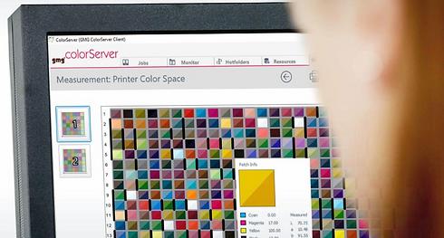 gmg colorserver digital smart profiler