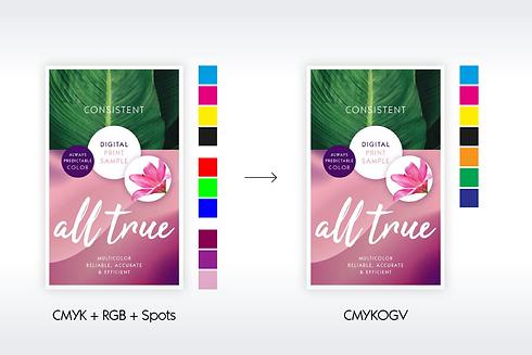 gmg colorserver multicolor digital y analógico