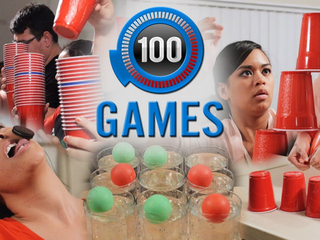 Need high energy games for your Christmas Party? 60 Second Challenge is for you.