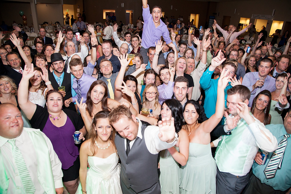 Interactive DJ /MC keeps guests involved in the wedding day so they're not bored