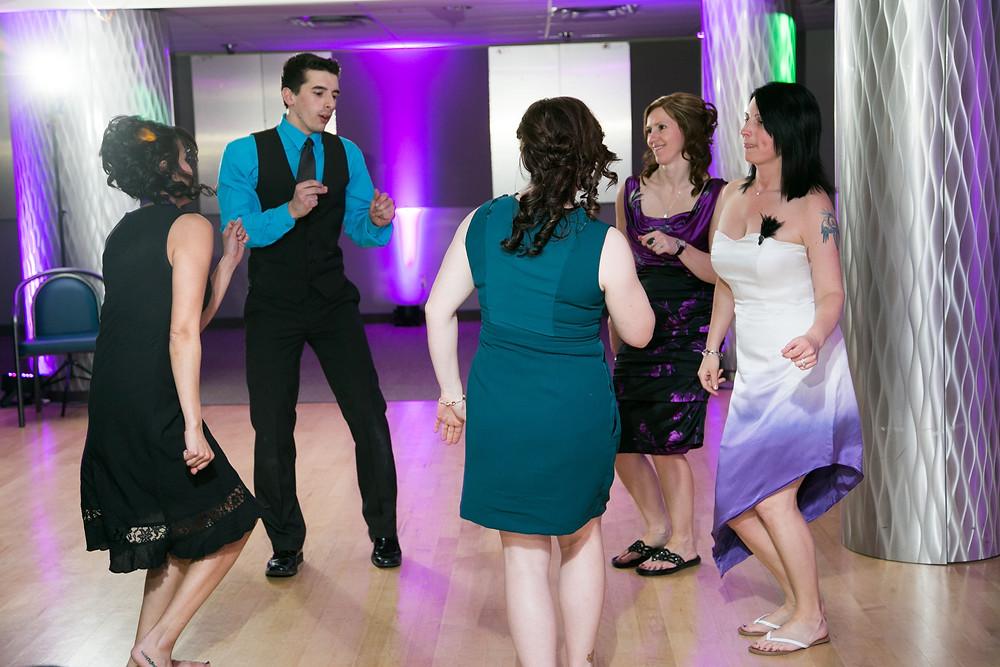 Same Sex Couple's Wedding Dance