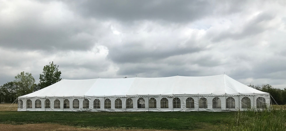 30 x 130 Marquee Tent