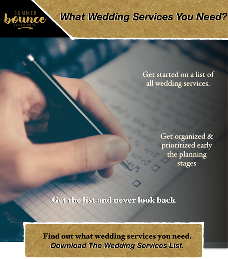 Making a wedding checlist