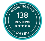 138 WeddingWire Reviews (Trans Backgroun