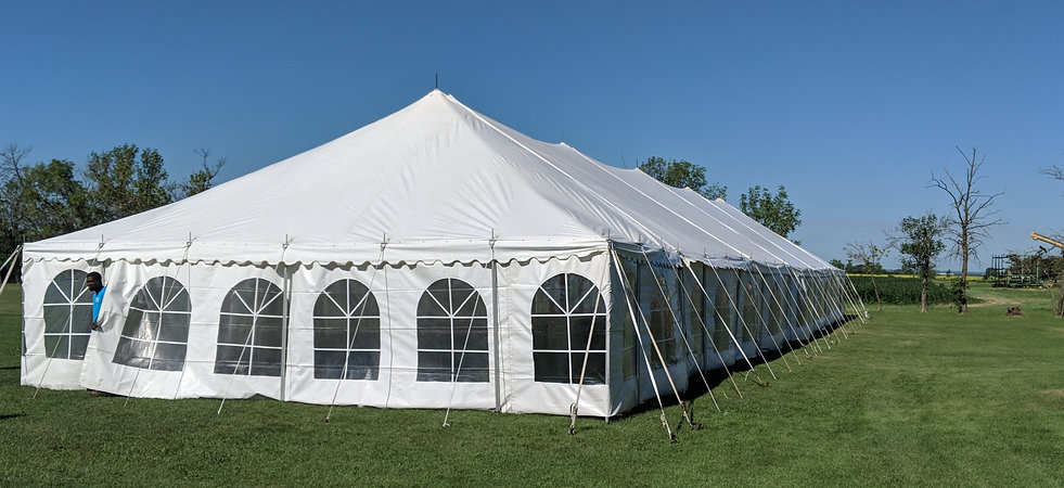 30 x 110 Marquee Tent