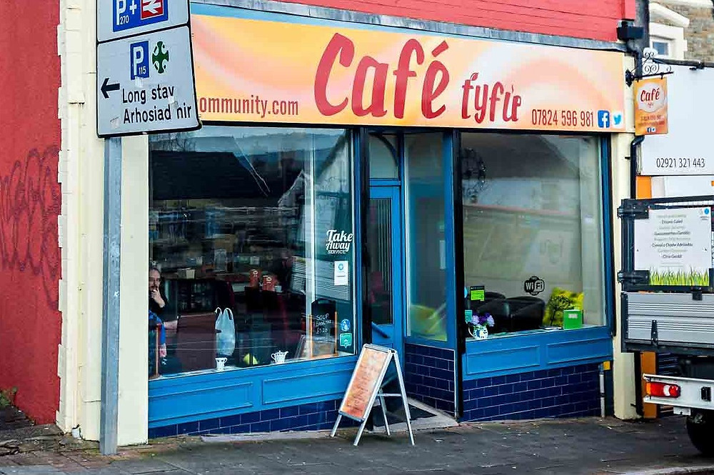 Dog friendly cafe in Caerphilly