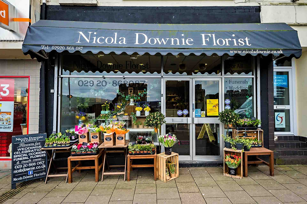 Dog friendly florist in Caerphilly