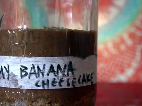 My Banana Cheesecake