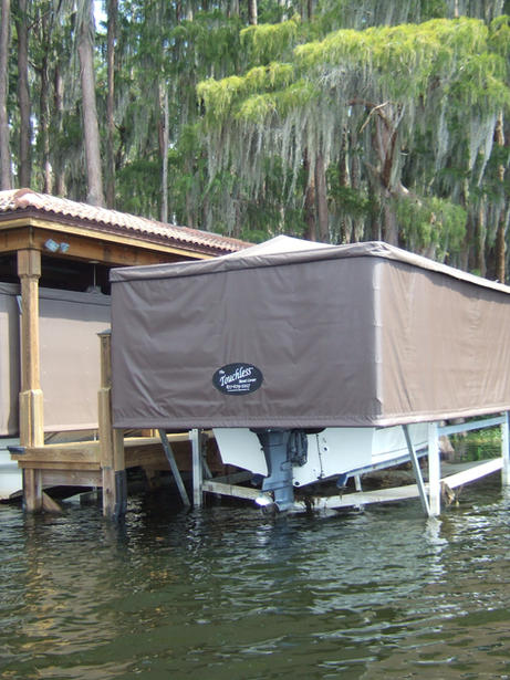 The Touchless Boat Cover®