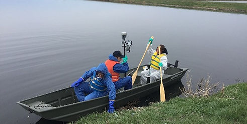 pond and lake mapping