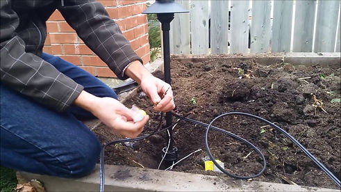 landscape lighting wire and repair parts