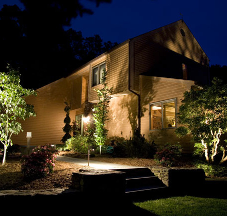 How do I participate in the CAST landscape lighting design process?