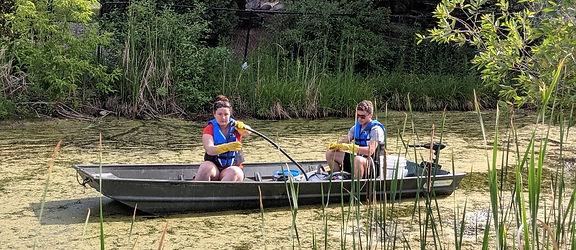pond treatment maintenance