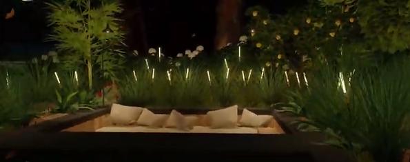 new CAST bamboo patio lightss