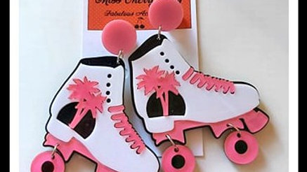 Funky Roller Skate Earrings