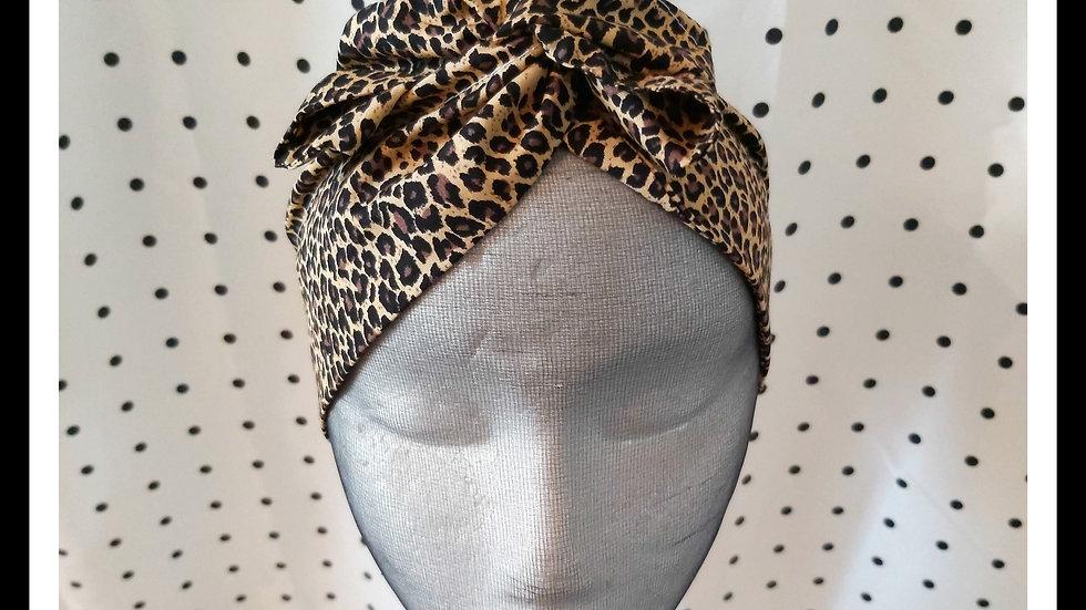 Leopard print Rosie Wire Wrap