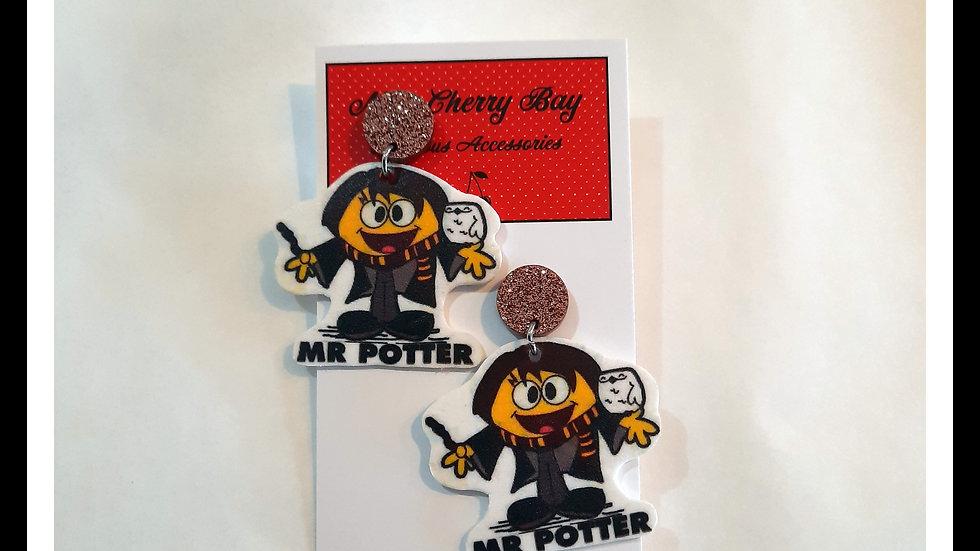 Little Mr Potter Earrings