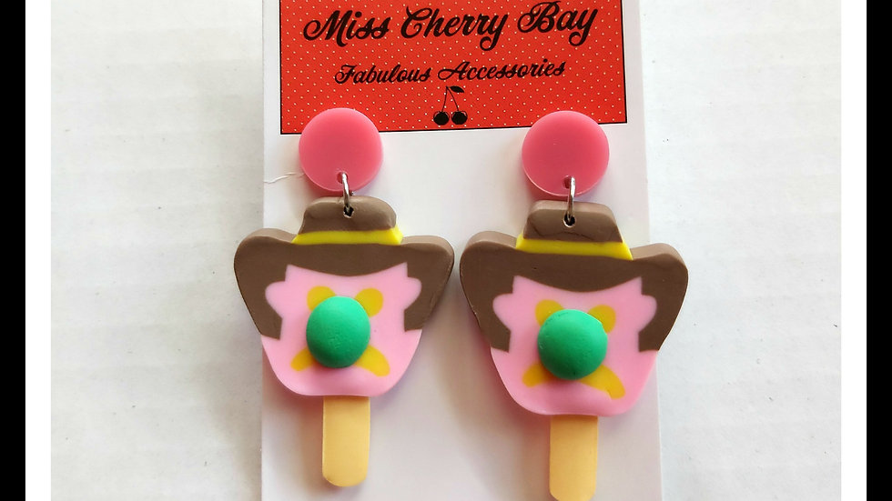 Novelty Bubble O Bill Earrings